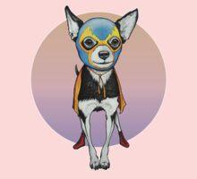 Luchador Chihuahua Dog One Piece - Short Sleeve