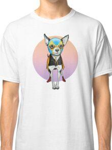 Luchador Chihuahua Dog Classic T-Shirt