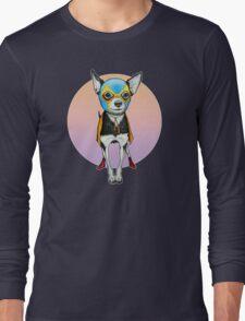 Luchador Chihuahua Dog Long Sleeve T-Shirt