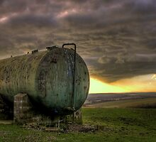Chanctonbury Water Tank by Greg Roberts