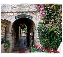 Enchanting alley Poster