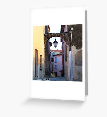 Magical passage Greeting Card