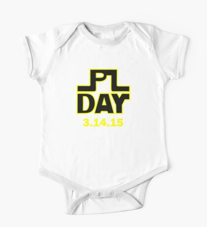 Pi Day - 3.14.15 One Piece - Short Sleeve