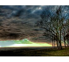 Chanctonbury : Blowing a Gale Photographic Print