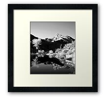 Desert Mountains Framed Print