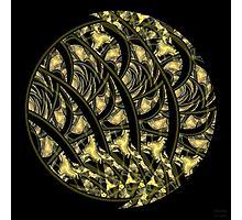 'Glowing Woodcut' Photographic Print