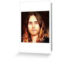 Jared Leto Greeting Card