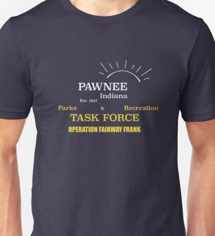 Fairway Frank (for dark shirts) Unisex T-Shirt