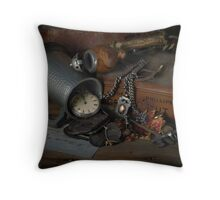 Old Resolutions Throw Pillow