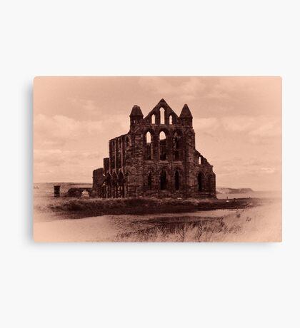 Whitby Abbey Canvas Print