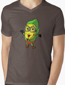 Minion/Tingle Mens V-Neck T-Shirt