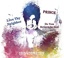 Prince Rogers Nelson - Controversy by JBJart