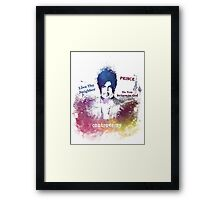 Prince Rogers Nelson - Controversy Framed Print
