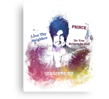 Prince Rogers Nelson - Controversy Canvas Print