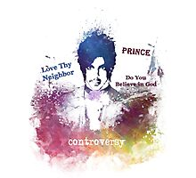 Prince Rogers Nelson - Controversy Photographic Print