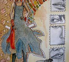 Paper Doll by Erika Thorpe