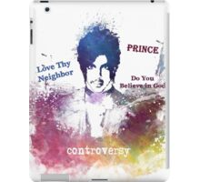 Prince Rogers Nelson - Controversy iPad Case/Skin