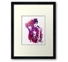 Prince Rogers Nelson - Purple Rain - concert Framed Print