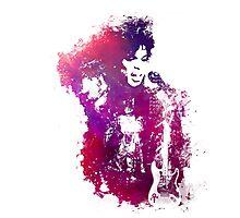 Prince Rogers Nelson - Purple Rain - concert Photographic Print