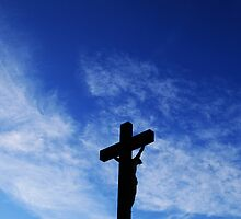 Silhouette Cross by divinephotos