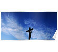 Silhouette Cross Poster