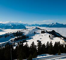 panorama from Rigi by peterwey