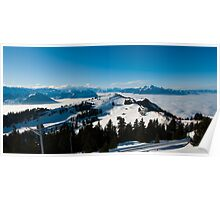 panorama from Rigi Poster
