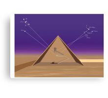Cosmic Alignment Canvas Print
