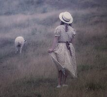 the girl and the sheep by Joana Kruse