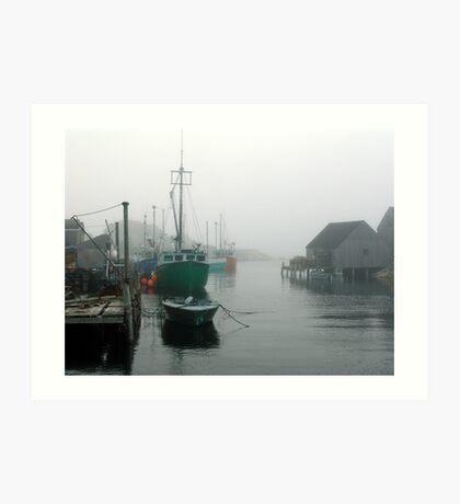 Misty Afternoon  Art Print
