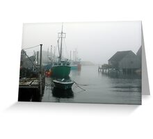 Misty Afternoon  Greeting Card