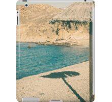 sunny beach iPad Case/Skin