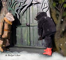 Wind in the Willows - At Badger's Door by MicksPhotoArt