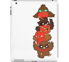 Go!Robins! - Lets fluff up! iPad Case/Skin