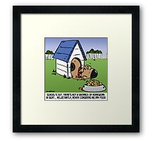 school's out for summer Framed Print