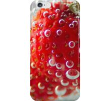 Strawberry Bubbles iPhone Case/Skin