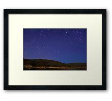 Raining Stars  Framed Print