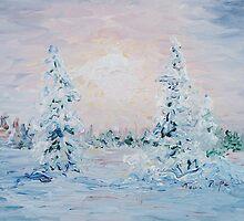 Blue Winter by Nadine Rippelmeyer