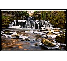 Cotter Force in the ice! Photographic Print