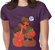 Go!Robins! - A pile of Robins Womens Fitted T-Shirt