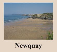 Newquay Beach - Cornwall /England by Jacqueline Turton