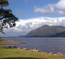Loch Linnhe, Fort William, Scotland by Stephen Lamb