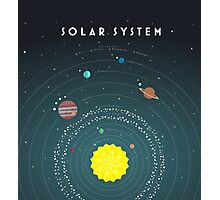 Solar System Photographic Print