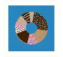 Doughnut Chart Art Print
