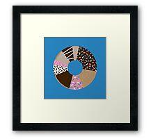 Doughnut Chart Framed Print