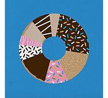Doughnut Chart Photographic Print
