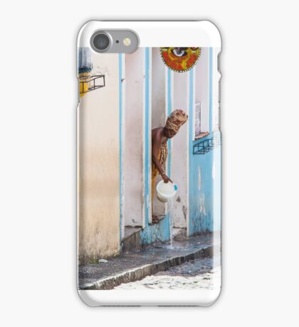Negra Jho iPhone Case/Skin