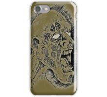 Screaming Zombie iPhone Case/Skin