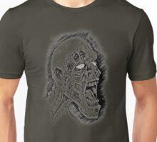 Screaming Zombie Unisex T-Shirt