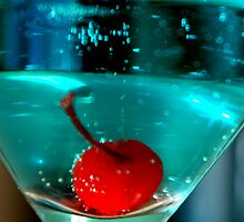 Blue Martini by Lindsay Dean